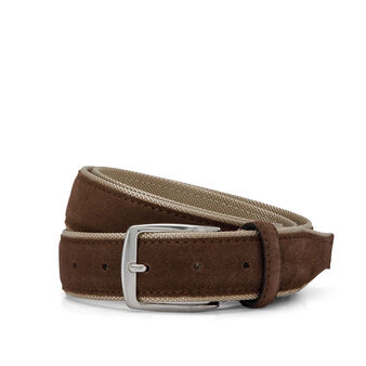 Luca D'Altieri mixed leather belt