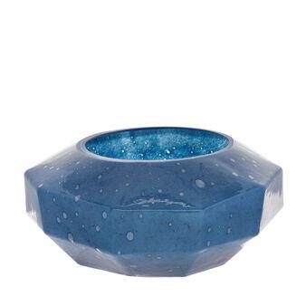 Centrotavola vetro colorato in pasta effetto bolle