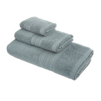 Solid colour cotton terry towel