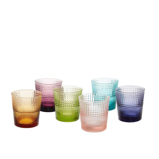 Set of 6 Speedy water glasses