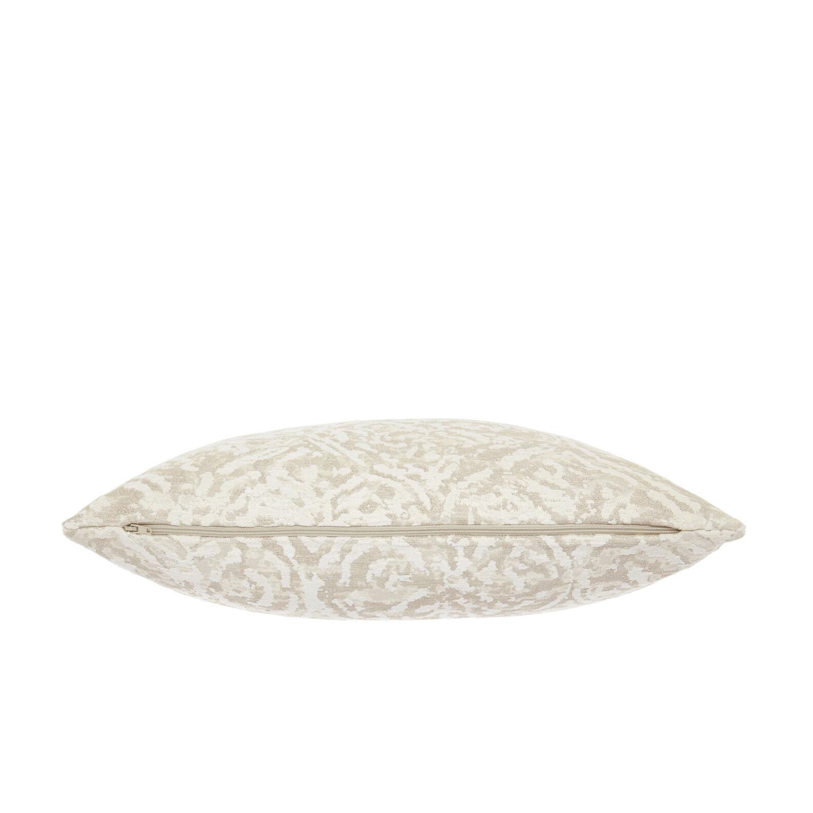 Jacquard fabric cushion with elegant patterns