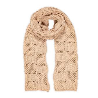 Koan openwork fabric scarf