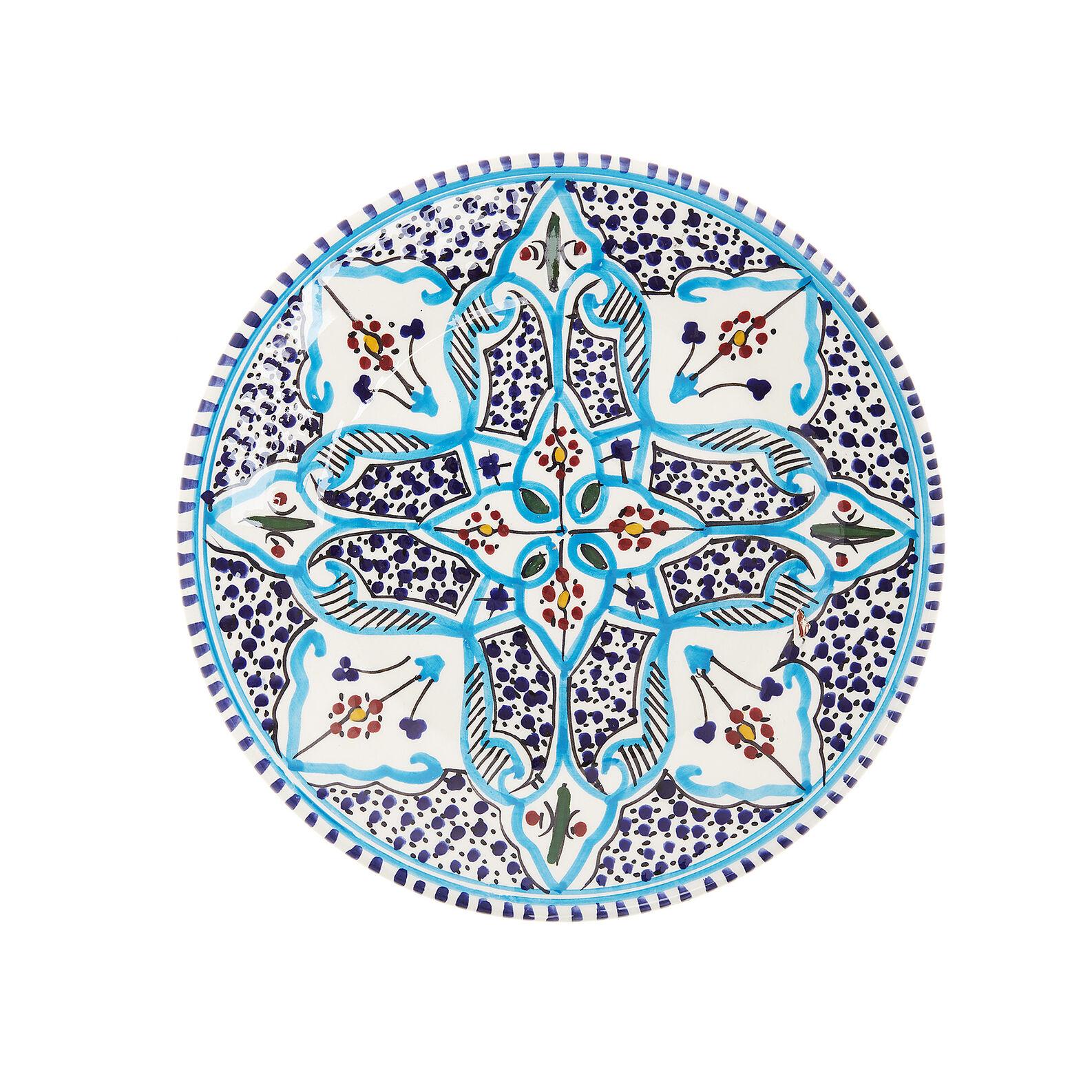 Piatto frutta ceramica artigianale UNIDO
