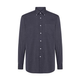 Camicia button-down regular fit in cotone