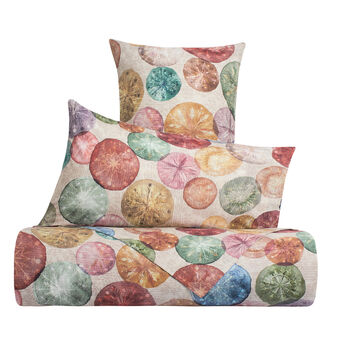 Duvet cover in 100% cotton percale with Christmas pattern