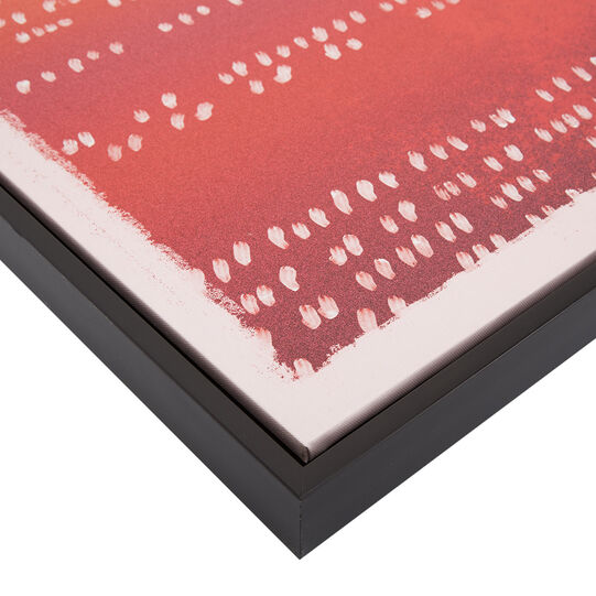 Canvas with abstract photo print