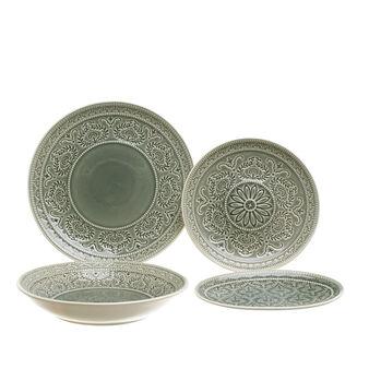 Flora stoneware tableware line