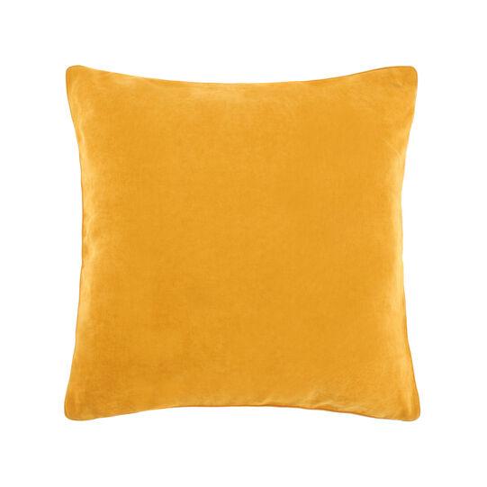 Solid colour mélange cushion