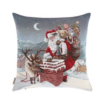 Gobelin cushion with Christmas motif 45x45cm