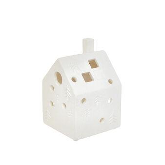 Lanterna ceramica a casetta