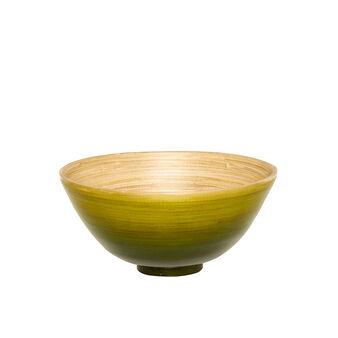 Painted bamboo bowl