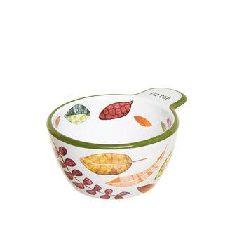 Small stoneware foliage bowl