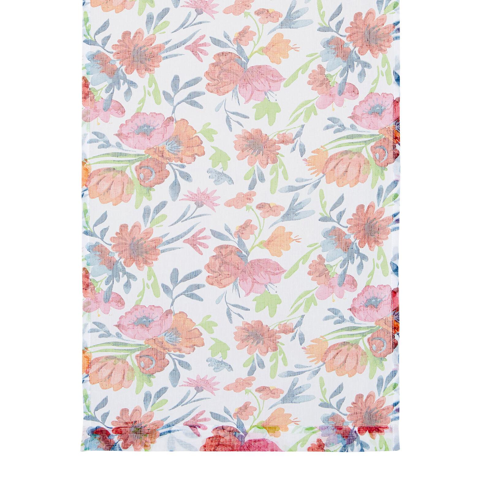 Tendina stampa fiori