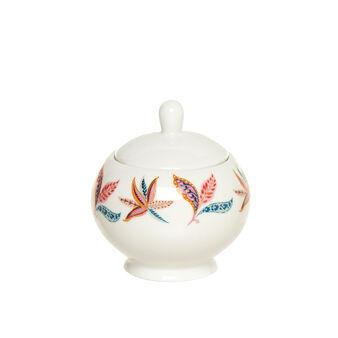 New Bone China sugar bowl with floral design