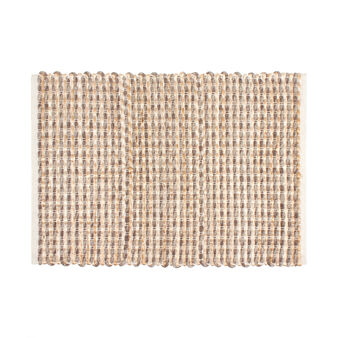 Kitchen mat in woven cotton