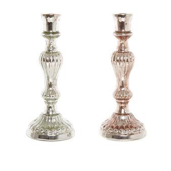 Candeliere in vetro fatto a mano