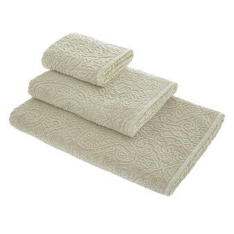 Asciugamano puro cotone stonewashed
