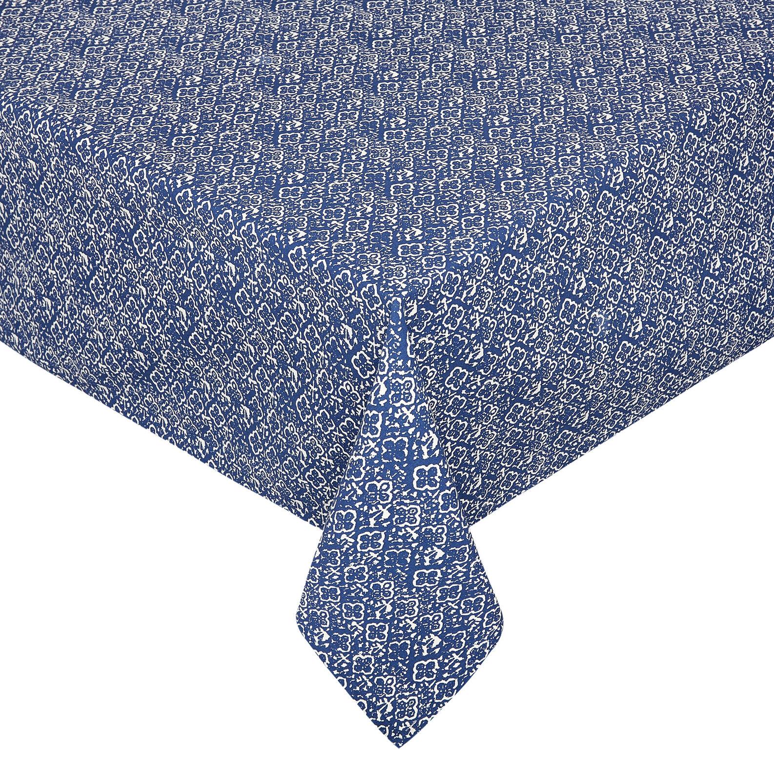 Tovaglia puro cotone stampa ornamentale