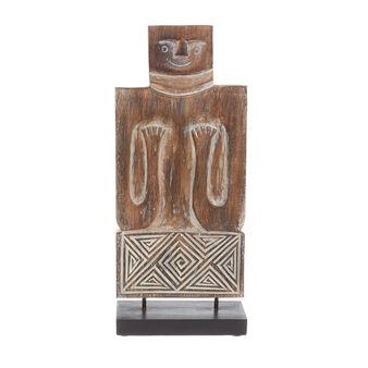 Statuina legno fatta a mano