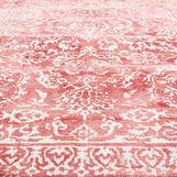 Beside rug with ornamental motif