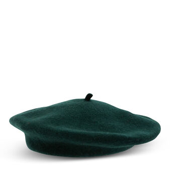Koan plain wool beret