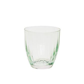 Bicchiere vetro effetto optical