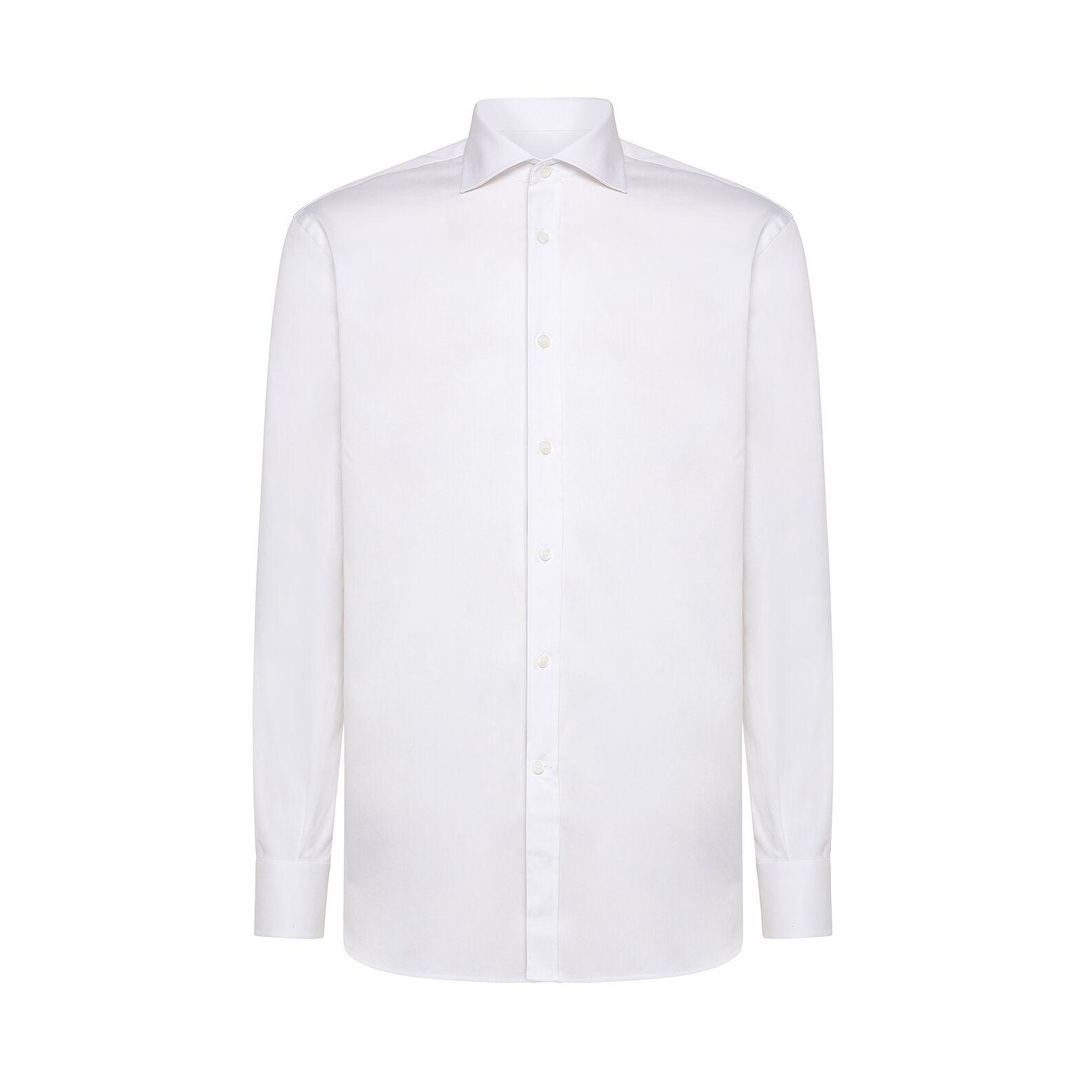Camicia in cotone doppio ritorto