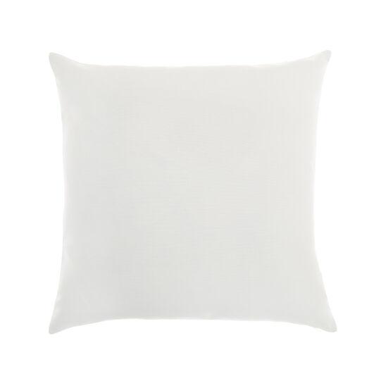 Jacquard cotton cushion with paisley motif