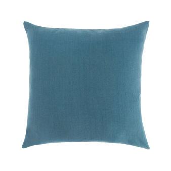 Solid colour 100% linen cushion