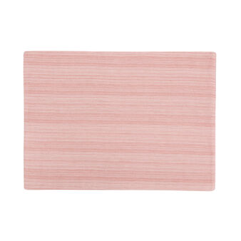 100% cotton table mat with stripes