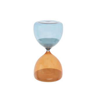 Coloured glass jewellery hourglass