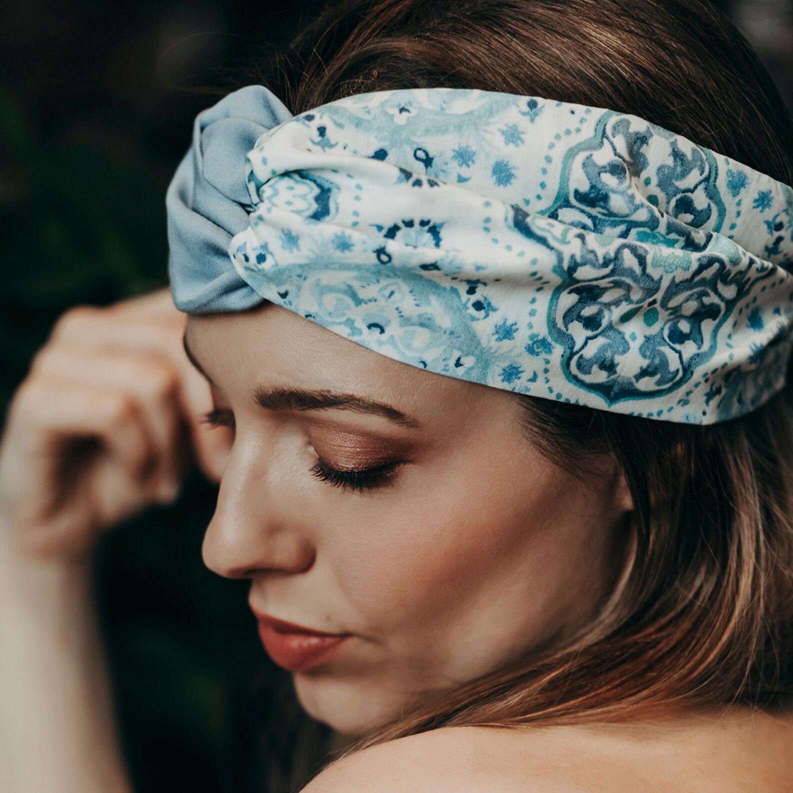Ornamental patterned headband