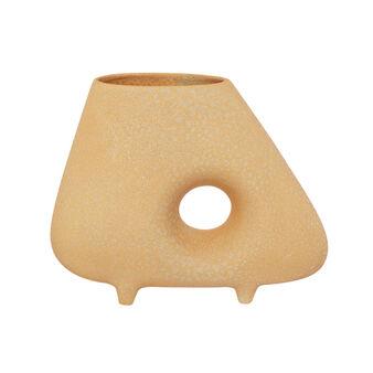 Vaso scultura ceramica artigianale