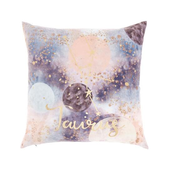 Cushion cover with Taurus print 45x45cm