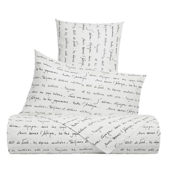 Parure lenzuolo cotone percalle fantasia poesia