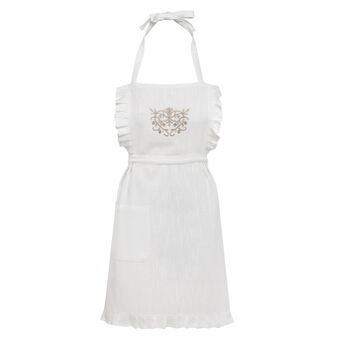 Burano embroidered apron