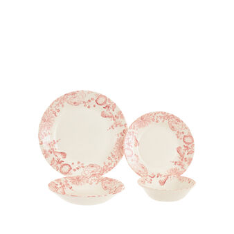 Blooms ceramic tebleware line