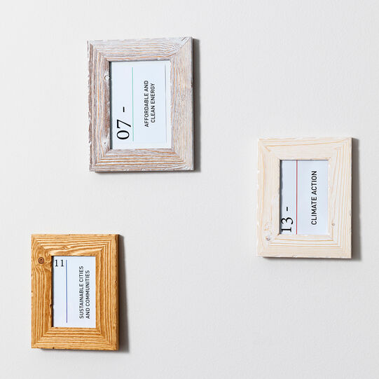 Cadore fir wood photo frame Photo frame with Cadore fir wood frame
