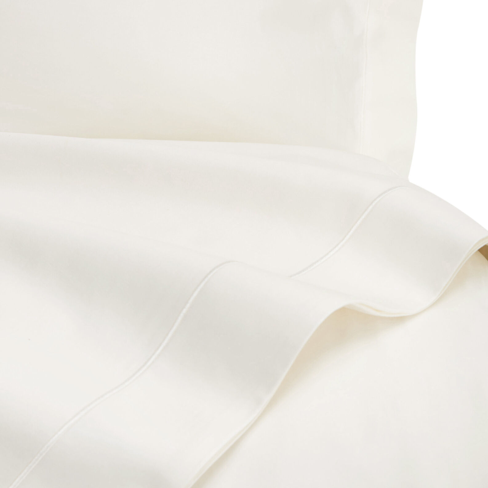 Flat sheet in TC400 satin cotton