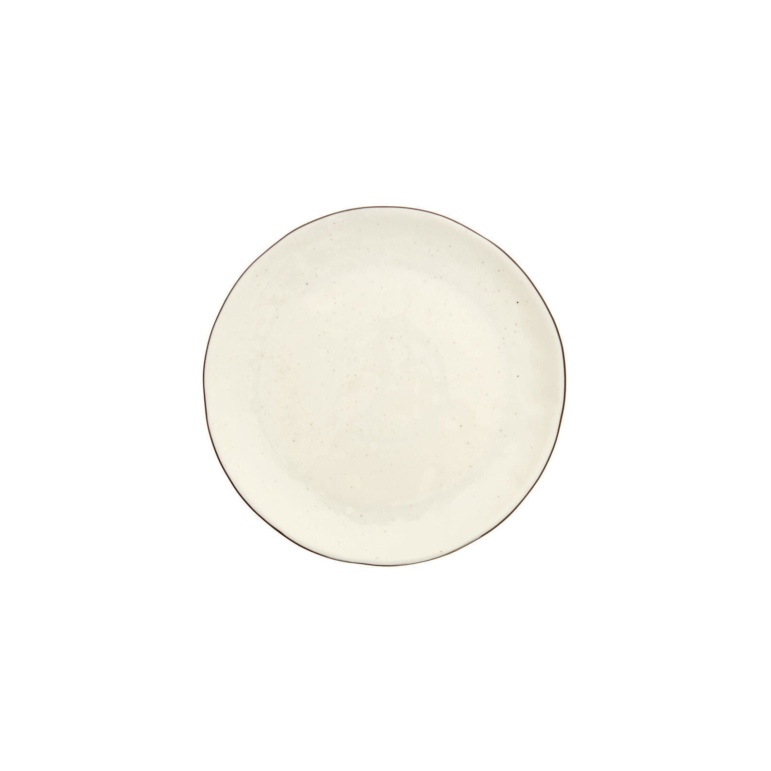Ginevra side plate in porcelain