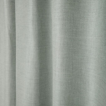 Solid colour curtain with hidden loops