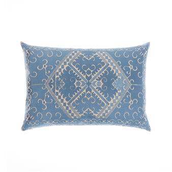 Cushion with ornamental embroidery 35x50cm