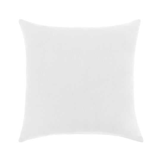 Cotton cushion cover with E print 45x45cm