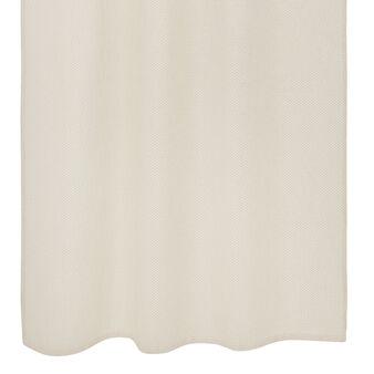Woven lurex curtain