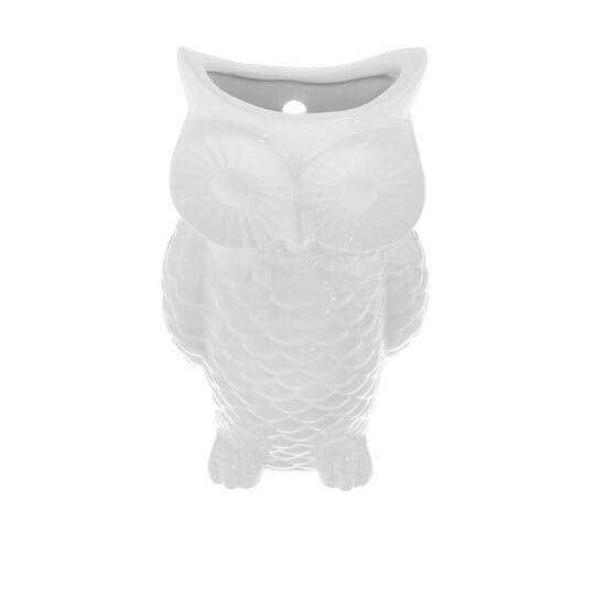 Owl-shaped ceramic humidifier