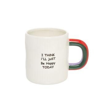 Mug ceramica I think
