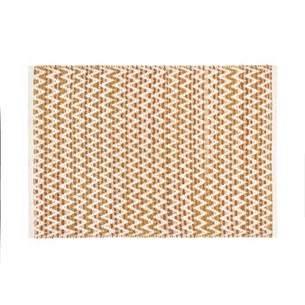 Wool kitchen mat