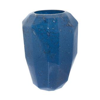 Vaso vetro colorato in pasta effetto bolle