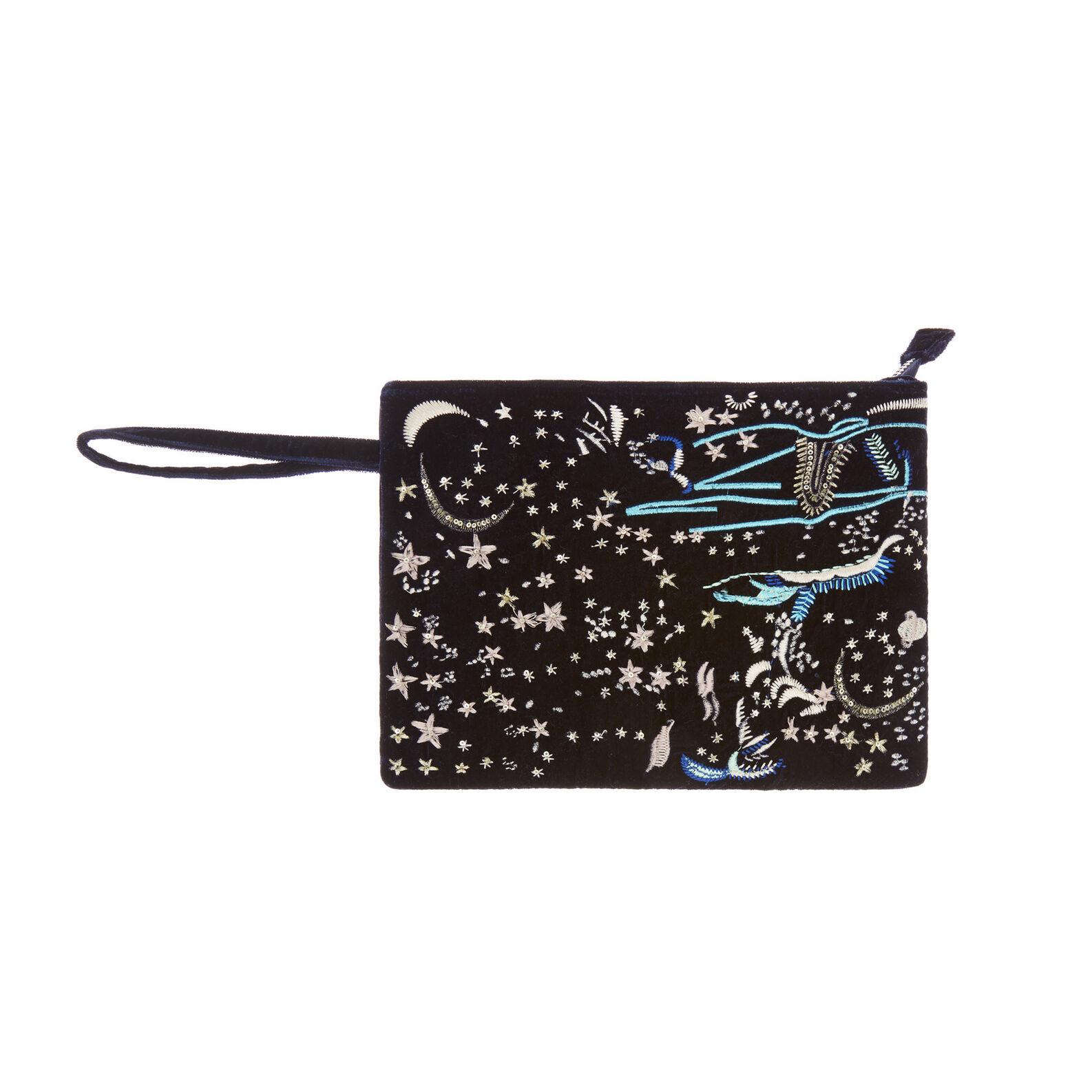 Universe motif cotton beauty case
