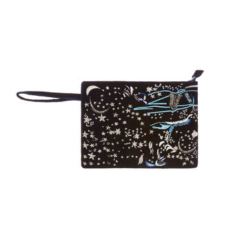 Universe motif cotton beauty case